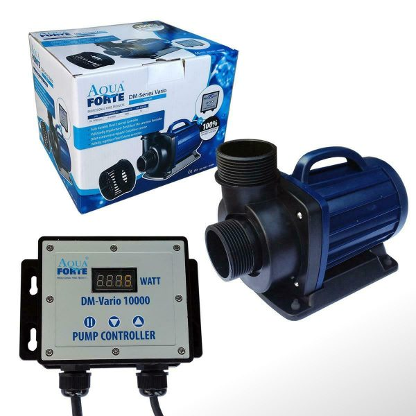 AquaForte DM Vario 10000 20000 30000 regelbare Teichpumpe Koi Teich Filter Pumpe